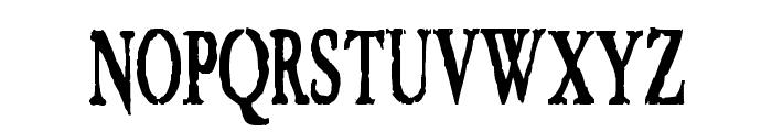 VTC Embrace Regular Font UPPERCASE