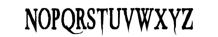 VTC Embrace Regular Font LOWERCASE