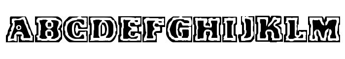 VTC FunkinFrat Regular Font UPPERCASE