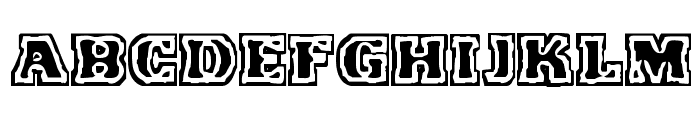 VTC FunkinFrat Regular Font LOWERCASE