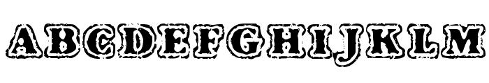 VTC FuzzyPunkySlippers Regular Font UPPERCASE