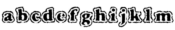 VTC FuzzyPunkySlippers Regular Font LOWERCASE