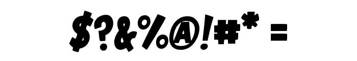 VTC-GarageSale Font OTHER CHARS