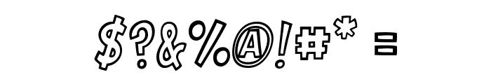 VTC-GarageSaleOutlined Font OTHER CHARS