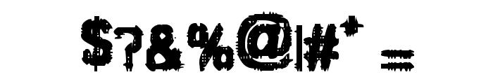 VTC JezzabelBimbo Regular Font OTHER CHARS