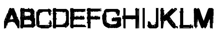 VTC JezzabelBimbo Regular Font UPPERCASE