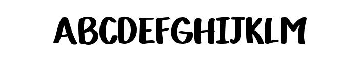 VTC-KomikaHandOne Font LOWERCASE