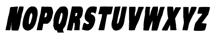 VTC-KomikaHeadLinerOne Bold Italic Font UPPERCASE
