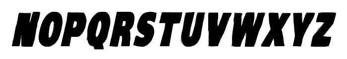 VTC-KomikaHeadLinerOne Bold Italic Font LOWERCASE