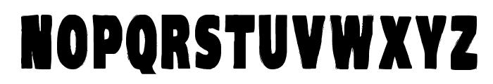 VTC-KomikaHeadLinerOne Bold Font UPPERCASE