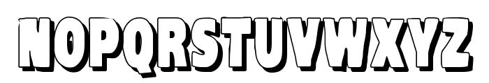 VTC-KomikaHeadLinerTwo Shadow Font LOWERCASE