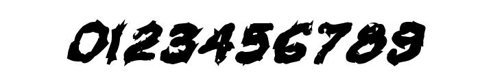 VTC Krinkle-Kut Bold Italic Font OTHER CHARS