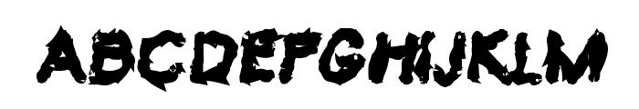 VTC Krinkle-Kut Bold Font LOWERCASE