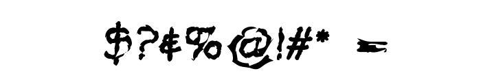 VTC Krinkle-Kut Regular Font OTHER CHARS