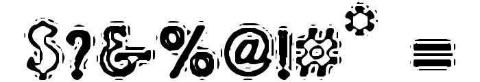 VTC LiquorCrystalDisplay Font OTHER CHARS
