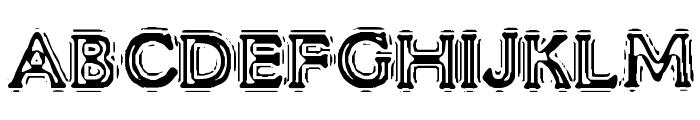 VTC LiquorCrystalDisplay Font UPPERCASE