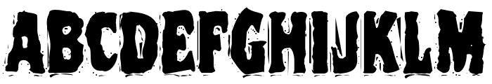 VTC NightOfTheDeadCorruptCaps Font LOWERCASE