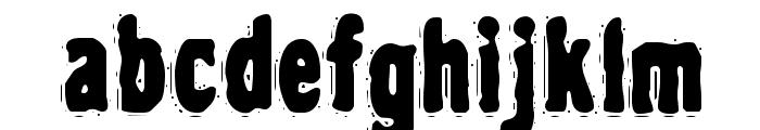 VTC NightOfTheDrippyDead Regular Font LOWERCASE