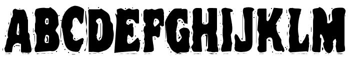 VTC NightOfTheOozieDeadCaps Font UPPERCASE