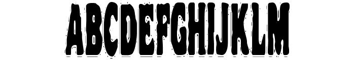 VTC NightOfTheStretchedDead Font UPPERCASE