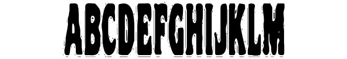 VTC NightOfTheStretchedDead Font LOWERCASE