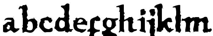 VTC OldAsCrap Regular Font LOWERCASE