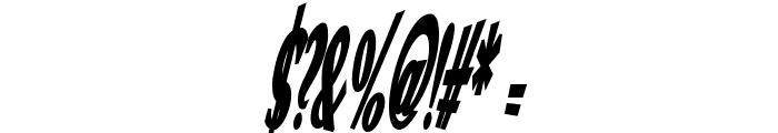 VTC Optika Bold Italic Font OTHER CHARS