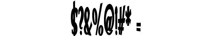 VTC Optika Bold Font OTHER CHARS