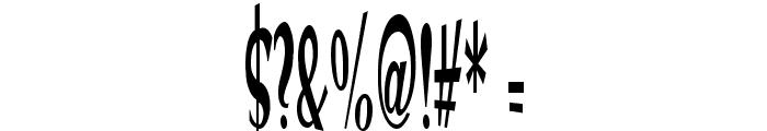 VTC Optika Regular Font OTHER CHARS
