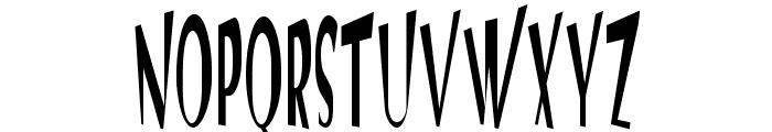 VTC Optika Regular Font UPPERCASE