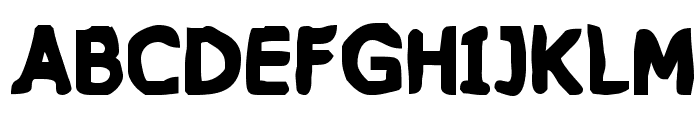 VTC PizzOff Fatty Font UPPERCASE