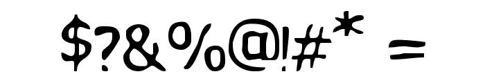 VTC PizzOff Regular Font OTHER CHARS