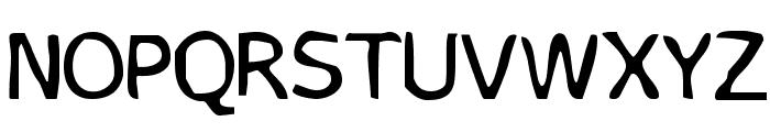 VTC PizzOff Regular Font UPPERCASE