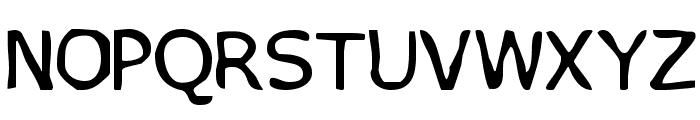 VTC PizzOff Regular Font LOWERCASE