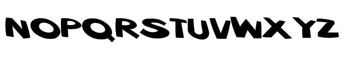 VTC ScreamItLoud Regular Font LOWERCASE