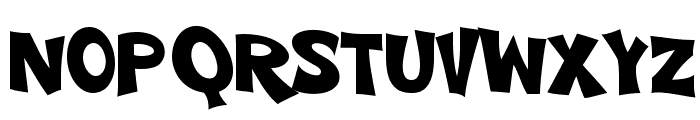 VTC-ScreamItLoudTwo Font UPPERCASE