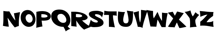 VTC-ScreamItLoudTwo Font LOWERCASE