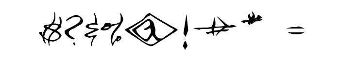 VTC SeeJoBend Regular Font OTHER CHARS