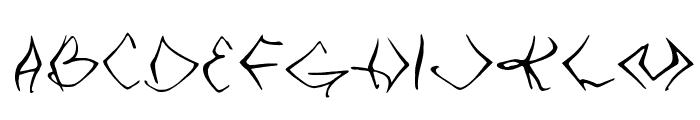 VTC SeeJoBend Regular Font UPPERCASE