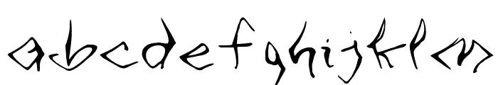 VTC SeeJoBend Regular Font LOWERCASE