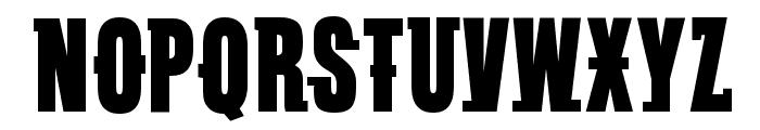 VTC SubwaySlam Regular Font UPPERCASE