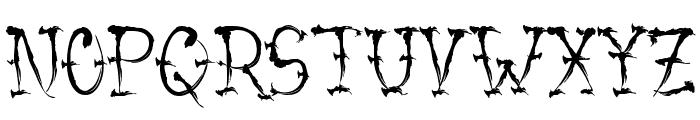 VTC-SumiSlasherOne Small Caps Font UPPERCASE