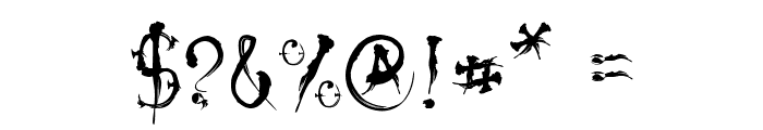 VTC-SumiSlasherOne Font OTHER CHARS