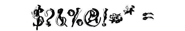 VTC-SumiSlasherOneSkinnedRaw Font OTHER CHARS