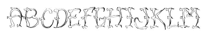 VTC-SumiSlasherOneSkinned Font LOWERCASE