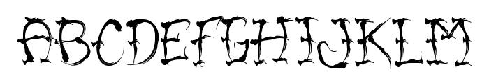 VTC-SumiSlasherOne Font LOWERCASE