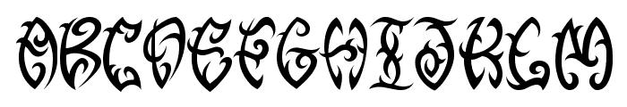 VTC-TribalThreeFree Font UPPERCASE
