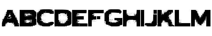VTCBadLuck Regular Font UPPERCASE