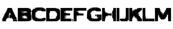 VTCBadLuck Regular Font LOWERCASE