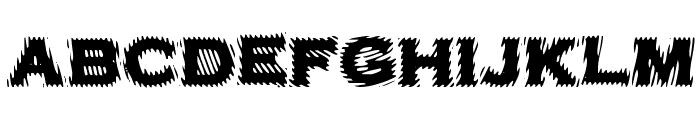 VTCBadPlating Regular Font LOWERCASE